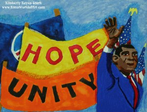 Hope and Unity for Barack Obama