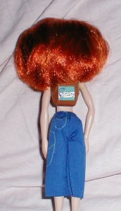 Kim Possible Doll-Back