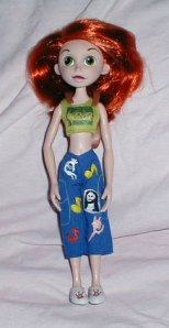 Kim Possible Doll-Front
