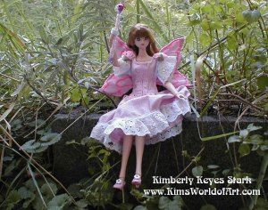 Pink Fairy-Outside