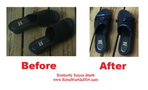 Shoes-Before and After