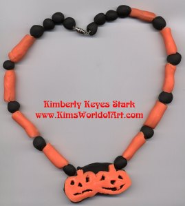 Jack O'Lanterns Necklace