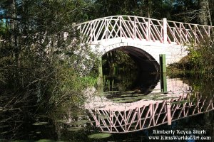 White Bridge at Cypress Gardens