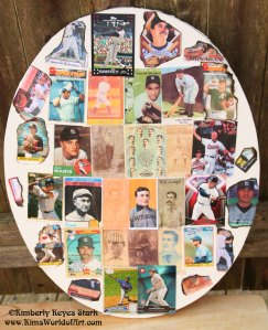 Baseball Cards Collage