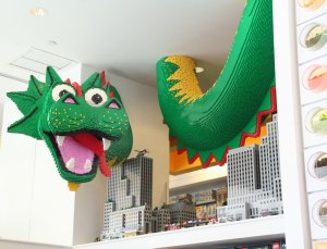 Lego Store in Rockefeller Center