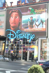 Disney Store in Times Square