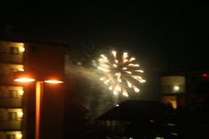 Fireworks, Ocean City, Maryland, July 4, 2011