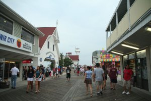 The Boardwalk, Ocean City, Maryland