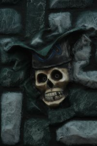 Pirate Skull, The Boardwalk, Ocean City, Maryland