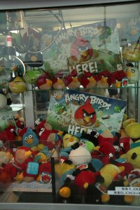 Angry Birds Claw Machine Prizes, Ocean City, Maryland