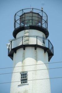 Top of Fenwick Island Lighthouse