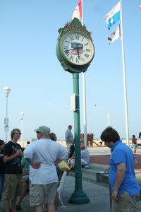 Esskay Clock, Boardwalk, Ocean City, Maryland