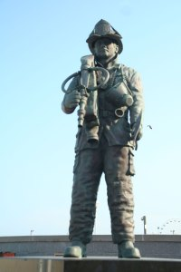 Firefighters Memorial, The Boardwalk, Ocean City, Maryland