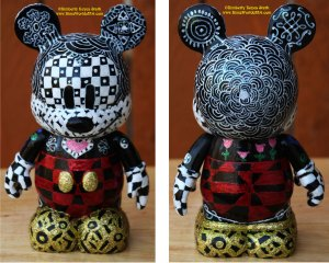 Zentangled Mickey