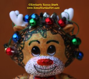 Rudolf the Red-Nosed Tangled Reindeer