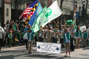 St. Patrick's Day Parade, Gaithersburg, Maryland