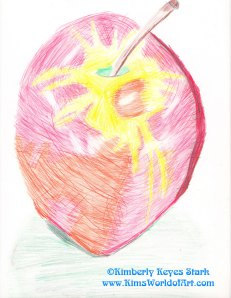 Apple Drawing 1