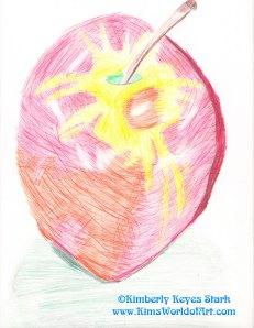 Apple Drawing 1