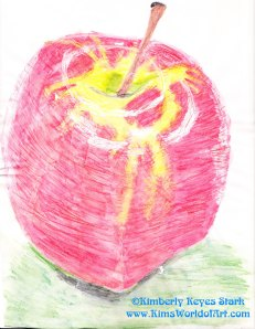 Apple Drawing 2