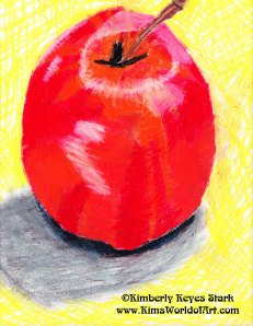 Apple Watercolor 2