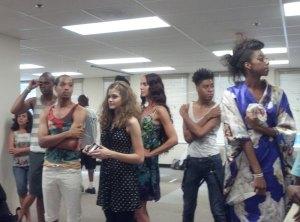 Fashion Show Model at Artomatic