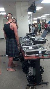 DJs at the Artomatic Fashon Show