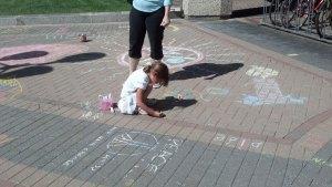 Chalk 4 Peace at Artomatic 2012