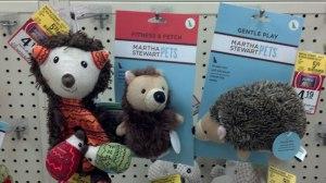 Hedgehogs by Martha Stewart Pets