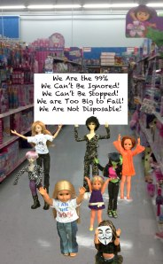 Occupy the Dollhouse: Black Friday Protest at Walmart