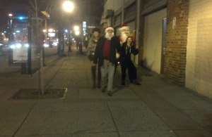 Gang of Santas, Baltimore, December 15, 2012