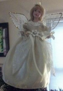 Christmas angel treetopper