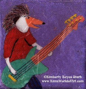 Hedgehog Bassist