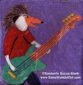 Hedgehog Bassist