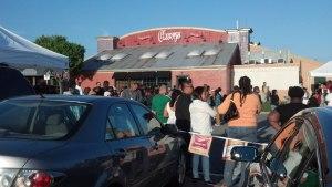 Cinco de Mayo at Chevy's,  May 5, 2013