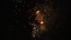 Fourth of July Fireworks at Greenbelt Lake, 2013