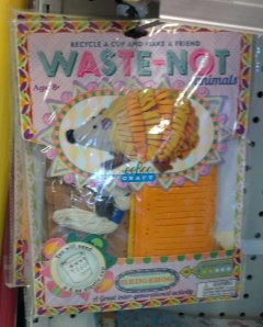 eeBoo Waste-Not Hedgehog Craft Kit