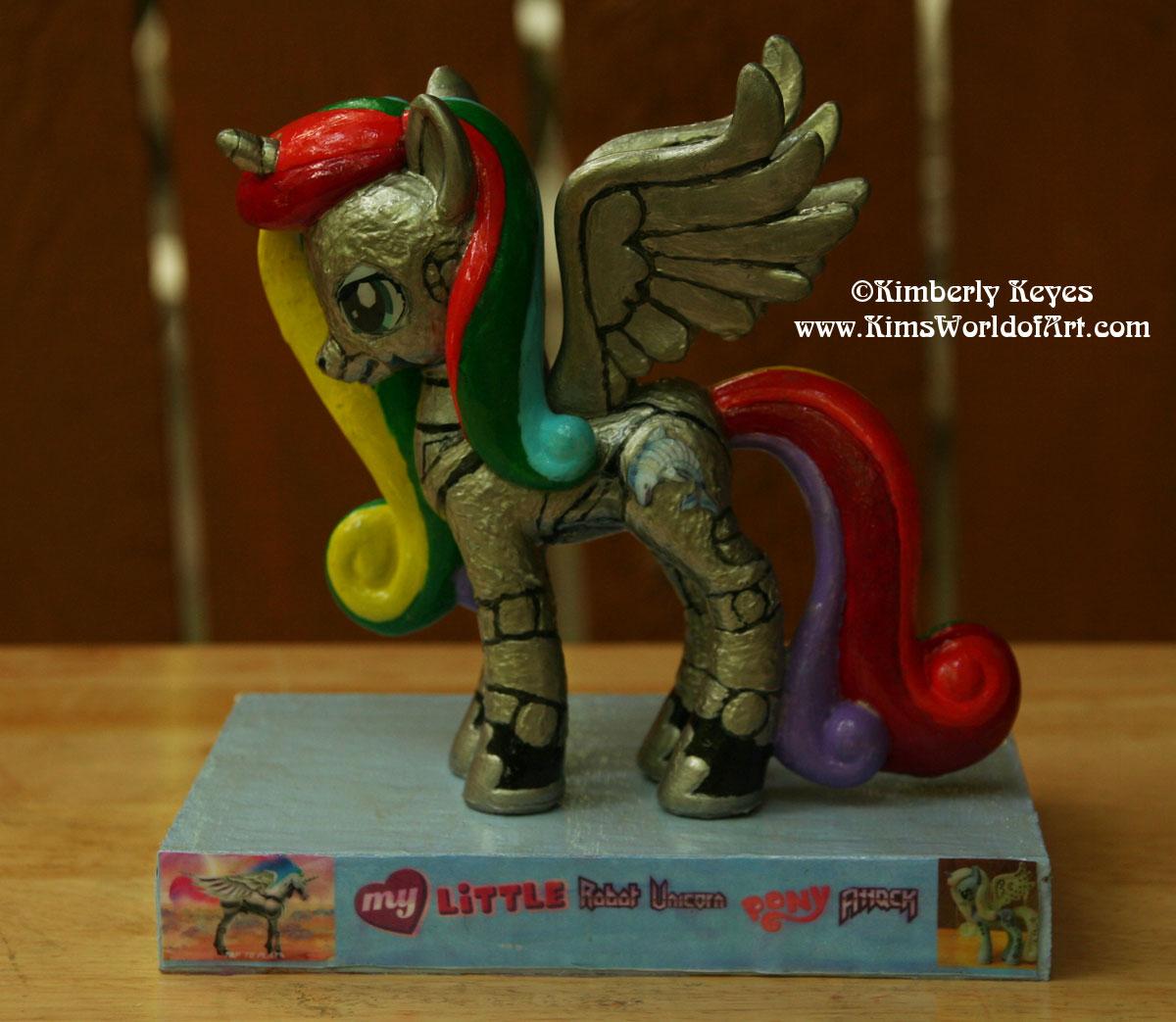 My Little Robot Unicorn Pony Attack Sagittarius Dolly