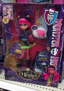 Monster High Howleen Wolf doll