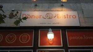 Doner Bistro, Adams-Morgan, Washington, DC