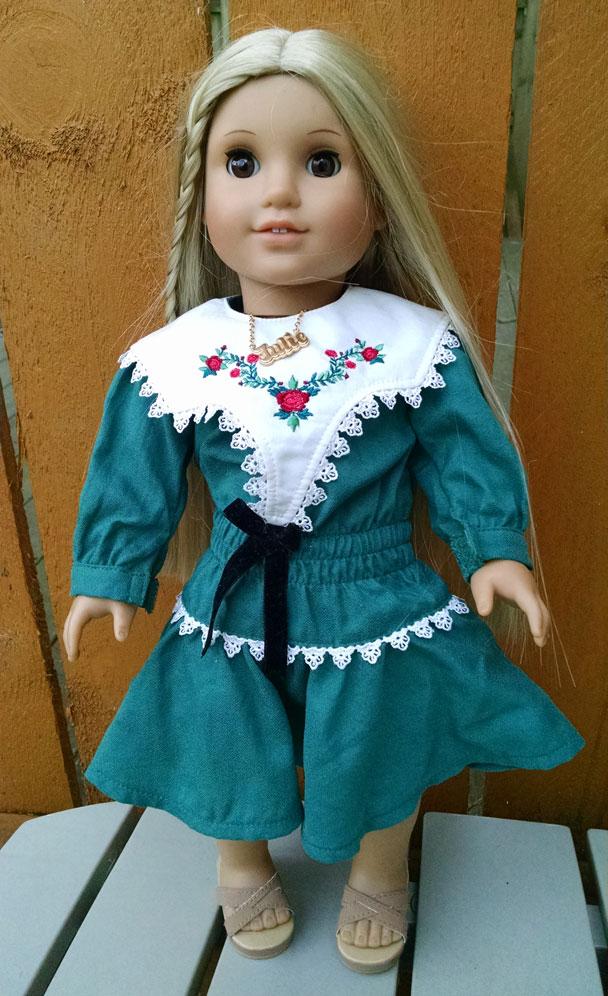 American Girl Julie Albright Blonde Hair 1970s Character ...  |American Doll Julie Albright