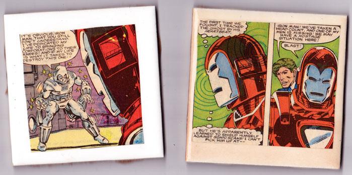 Comic Book Coasters Part 4 Sagittarius Dolly