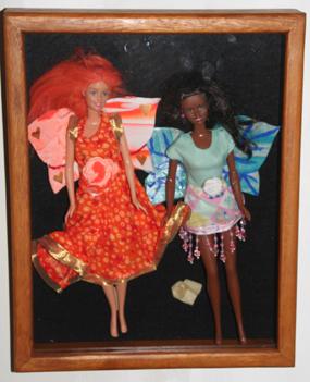 barbiefairiesinpictureframe